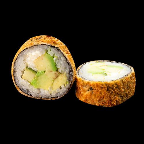 184. GEBACKENE SUSHI Mit Avocado (6 Stk.)