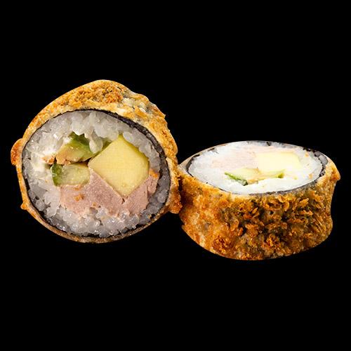 185. GEBACKENE SUSHI Mit Thunfisch (6 Stk.)